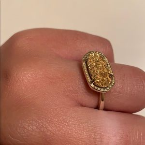KENDRA SCOTT gold ring
